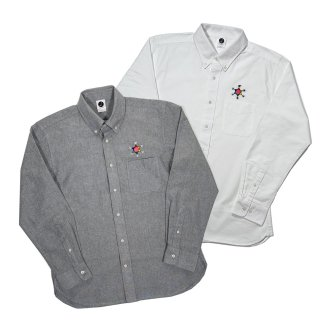 <img class='new_mark_img1' src='https://img.shop-pro.jp/img/new/icons50.gif' style='border:none;display:inline;margin:0px;padding:0px;width:auto;' />HEXAGRAM LOGO OX Shirt LS