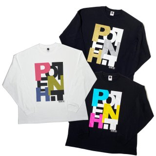 <img class='new_mark_img1' src='https://img.shop-pro.jp/img/new/icons50.gif' style='border:none;display:inline;margin:0px;padding:0px;width:auto;' />PH BIG LOGO BIG SILHOUETTE LONG SLEEVE TEE
