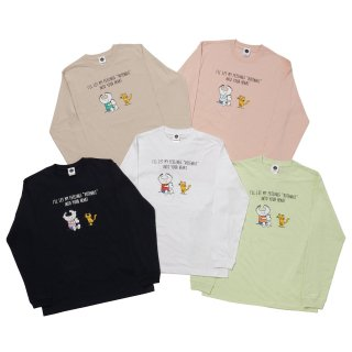 CHARACTER MESSAGE Long Sleeve Tee