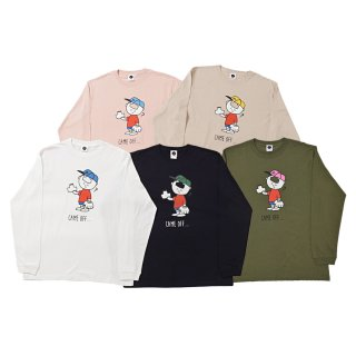 <img class='new_mark_img1' src='https://img.shop-pro.jp/img/new/icons50.gif' style='border:none;display:inline;margin:0px;padding:0px;width:auto;' />CHARACTER Long Sleeve Tee