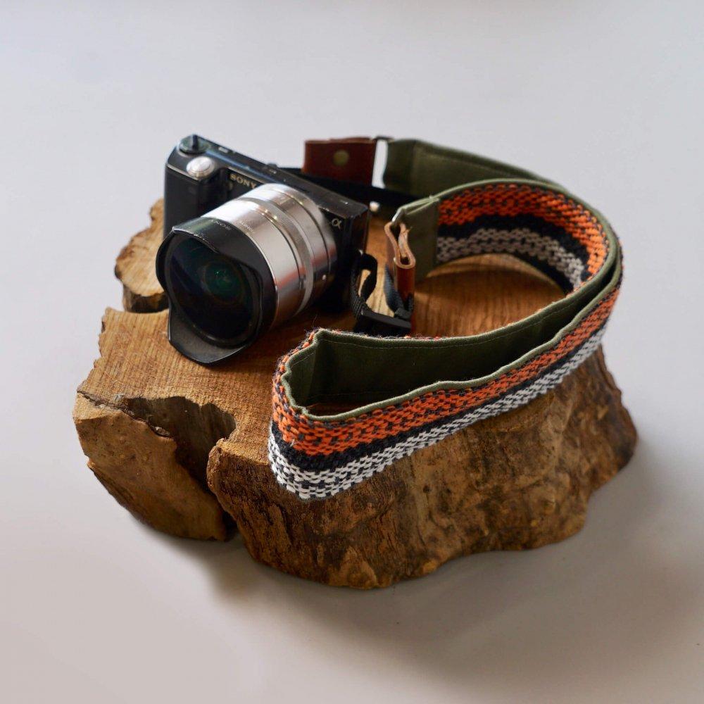 オリジナルカメラストラップ/3カラー/三河織物