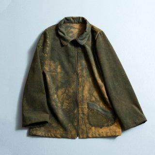ムラ染ネルシャツ/三河織物