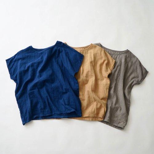 ゆったりガーゼTシャツ/ベーシック3カラー/知多木綿 ダブルガーゼ