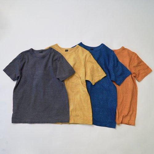 吊り編みスラブTシャツ/4カラー/和歌山県産 ニット編生地