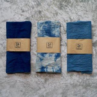 手ぬぐい/本藍染 選べる2枚セット/知多木綿