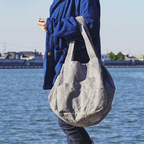 2wayトートバッグ/2カラー/三河織物 前掛け帆布