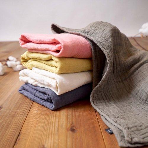 【ギフトセット】柔らかガーゼバスタオル 2枚セット/選べる5カラー/知多木綿 BOXラッピング付き