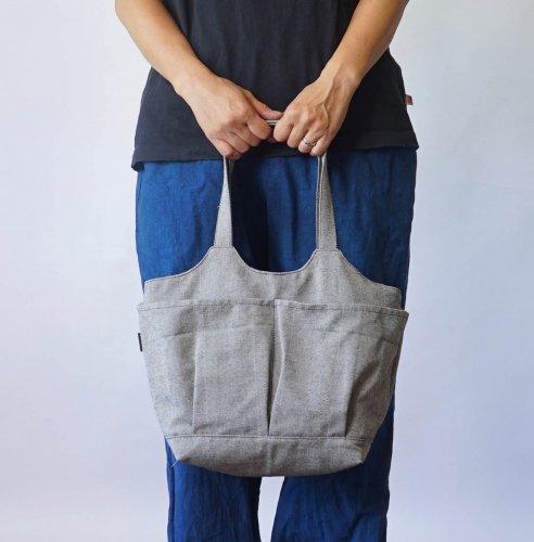 ベジバッグ (手提げ) /ヘリンボーン/三河織物