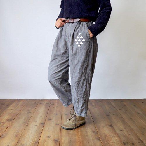 ボンタンパンツ/ グレー/三河織物