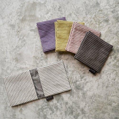 サニタリーケース/5カラー/三河木綿 刺し子織