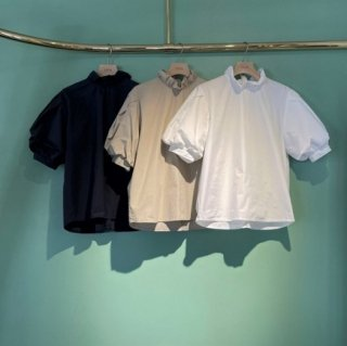 <img class='new_mark_img1' src='https://img.shop-pro.jp/img/new/icons11.gif' style='border:none;display:inline;margin:0px;padding:0px;width:auto;' />puff sleeve color blouse