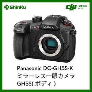 Panasonic DC-GH5S-K ミラーレス一眼カメラ GH5S(ボディ)