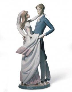 リヤドロ Lladro 【 ウェディングダンス 】  01001528 I LOVE YOU TRULY
