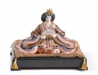 リヤドロ 人形  『雛人形<内親王>ハイポーセリン  01001939 HINA DOLLS - EMPRESS』
