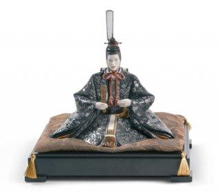 リヤドロ 人形  『雛人形<親王>ハイポーセリン  01001940 HINA DOLLS - EMPEROR』