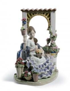リヤドロ 人形  『アンダルシアの春  01001964 ANDALUSIAN SPRING』
