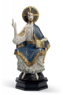 リヤドロ Lladro 【 イエス(ロマネスク) 】  01001969 ROMANESQUE CHRIST
