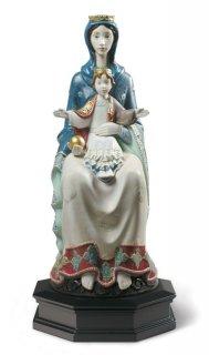 リヤドロ Lladro 【 ロマネスクの聖母 】  01001976 ROMANESQUE MATER