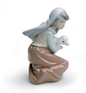 リヤドロ 人形  『迷子の子羊  01005484 LOST LAMB』