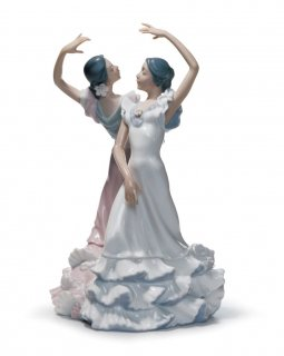 リヤドロ Lladro 【 情熱の踊り 】  01005601 OLE