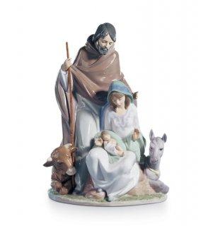 リヤドロ 人形  『キリストの誕生  01006008 JOYFUL EVENT』