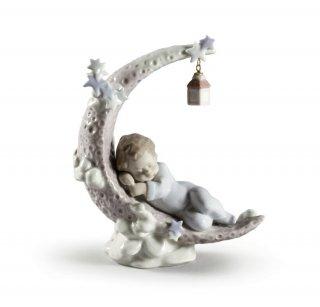 リヤドロ Lladro 【 お月様のベッド 】  01006479 HEAVENLY SLUMBER