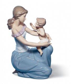 リヤドロ 人形  『ママにもあげる  01006705 ONE FOR YOU, ONE FOR ME』