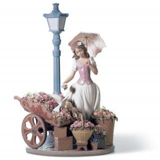 リヤドロ Lladro 【 花の街角 】  01006809 FLOWERS FOR EVERYONE