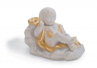 リヤドロ Lladro 【 イエス生誕(Re-Deco)  】  01007087 BABY JESUS (RE-DECO)