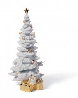 リヤドロ Lladro 【 クリスマスの贈りもの(RE-DECO) 】  01007089 O CHRISTMAS TREE (RE-DECO)