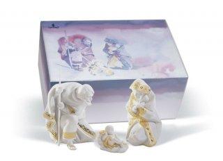 リヤドロ Lladro 【 聖なる夜 ギフトセット(RE-DECO) 】  01007095 SILENT NIGHT GIFT BOX (RE-DECO)