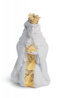 リヤドロ Lladro 【 三賢者 ガスパール(RE-DECO) 】  01007144 KING GASPAR (RE-DECO)