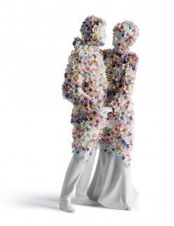 リヤドロ 人形  『Love �(Blossoms)  01007233 LOVE III (BLOSSOMS)』