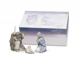 リヤドロ Lladro 【 聖なる夜 ギフトセット 】  01007804 SILENT NIGHT GIFT BOX (PORCELAIN)