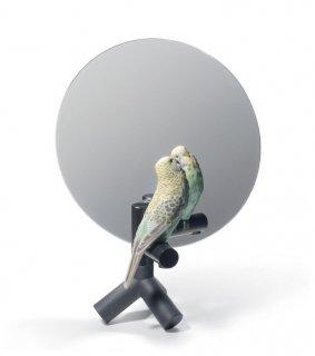 リヤドロ Lladro 【 オウムの鏡 】  01007849 PARROT VANITY