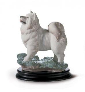 リヤドロ 人形  『十二支 戌 (台座付)  01008143 THE DOG』