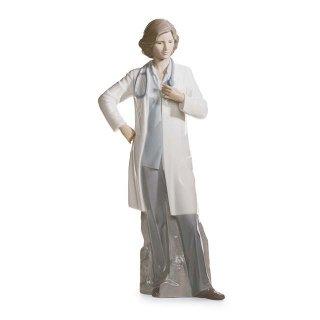 リヤドロ Lladro 【 頼れるドクター 】  01008189 FEMALE DOCTOR
