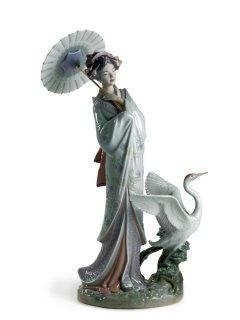 リヤドロ 人形  『MIYABI(雅)  01008253 JAPANESE PORTRAIT』