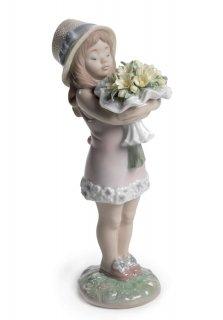 リヤドロ Lladro 【 あなたに花を 】  01008313 YOU DESERVE THE BEST