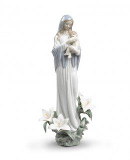 リヤドロ Lladro 【 聖なる母 】  01008322 MADONNA OF THE FLOWERS