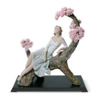 リヤドロ Lladro 【 桜の樹の下で 】  01008360 SWEET SCENT OF BLOSSOMS