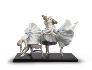 リヤドロ Lladro 【 バレエの華たち 】  01008476 BACKSTAGE BALLET