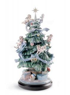 リヤドロ Lladro 【 幸せの魔法 】  01008477 GREAT CHRISTMAS TREE