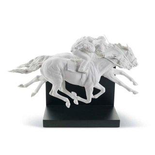 リヤドロ Lladro 【 ダービーの華 】  01008515 HORSE RACE