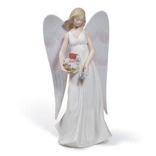 リヤドロ Lladro 【 星を散りばめて 】  01008534 ANGELIC STARS (TREE TOPPER)