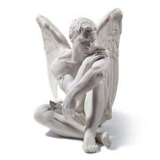 リヤドロ 人形  『守護天使  01008539 PROTECTIVE ANGEL』