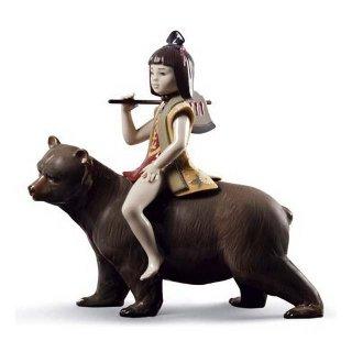 リヤドロ Lladro 【 金太郎 】  01008687 KINTARO AND THE BEAR
