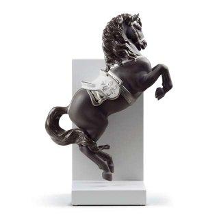 リヤドロ 人形  『跳躍(Re-Deco)  01008721 HORSE ON COURBETTE (RE-DECO)』