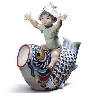 リヤドロ Lladro 【 鯉のぼり 】  01008775 HAPPY BOY'S DAY