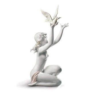 リヤドロ Lladro 【 平和を求めて(グレス) 】  01008799 PEACE OFFERING